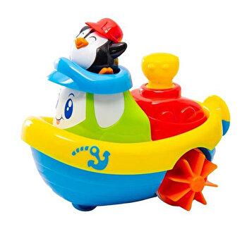 Jucarie pentru baie – Barcuta pinguinului de la Little Learner
