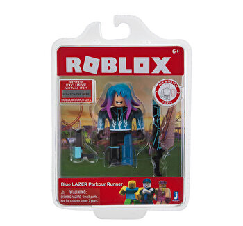 Figurina Roblox Blue Lazer Parkour Runner de la Roblox