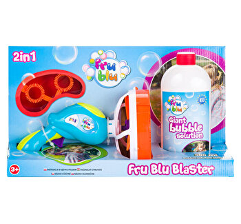 Set lansator + sticla lichid pentru bule 0,5l FRU BLU de la FRU BLU