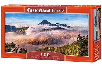 Puzzle panoramic Bromo Volcano Indonesia, 600 piese de la Castorland