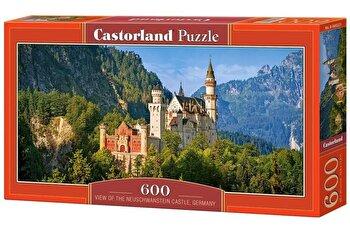 Puzzle panoramic Castelul Neuschwanstein – Germania, 600 piese de la Castorland