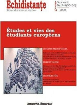 Echidistante nr.7-8/55-56 – Etudes et vies des etudiants europeens/*** de la Institutul European