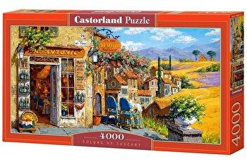 Puzzle Colors of Tuscany, 4000 piese de la Castorland