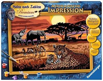 Set Pictura pe numere – Safari African de la Ravensburger