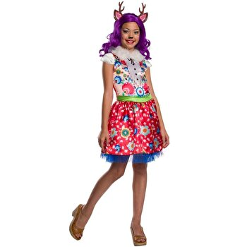 Costum carnaval EnchanTimals Danessa Deer, marime S de la Rubies