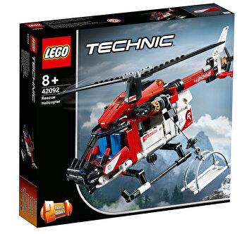 LEGO Technic 2 in 1, Elicopter de salvare 42092 de la LEGO