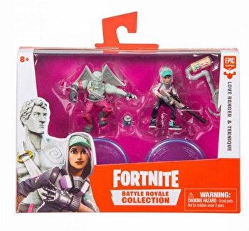 Set 2 figurine articulate Fortnite, Teknique si Love Range de la Fortnite