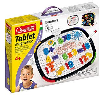 Joc creativ Tablet Magnetico Numbers Basc Quercetti forma magnetice de la Quercetti