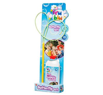 Set fluture + sticla lichid pentru bule 0,5l FRU BLU de la FRU BLU