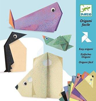 Kit origami – Animale polare de la Djeco