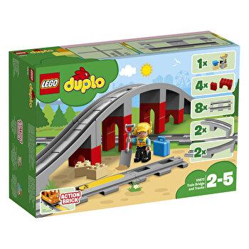 LEGO DUPLO, Pod si sine de cale ferata 10872 de la LEGO