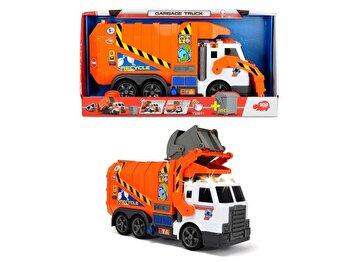 Action Series – Camion de gunoi, cu sunete si lumini de la Dickie Toys