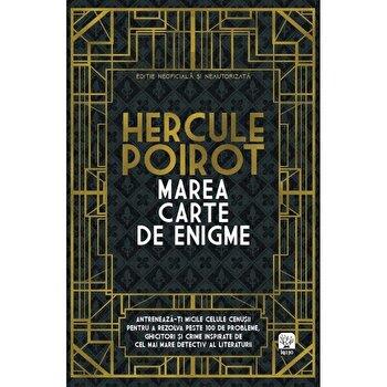 Hercule Poirot. Marea carte de enigme./Tim Dedopulos de la Litera