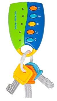 Jucarie bebe – Telecomanda cu lumini si sunete de la Noriel