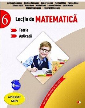 Lectia de matematica. Teorie. Aplicatii. Clasa a VI-a/*** de la Litera