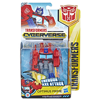 Transformers – Figurina Cyberverse Optimus Prime de la Transformers