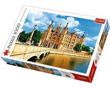 Puzzle Palatul Schwerin, 1000 piese de la Trefl