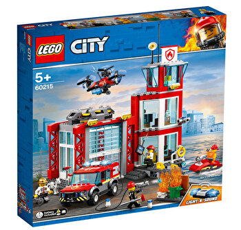 LEGO City, Statie de pompieri 60215 de la LEGO