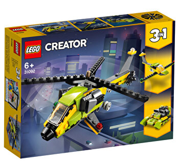 LEGO Creator 3 in 1, Aventura cu elicopterul 31092 de la LEGO
