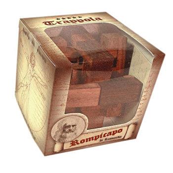 Puzzle din lemn – Trap – Leonardo da Vinci de la Logica Giochi