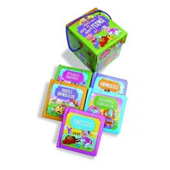 Primele mele carti despre ferma (cutie cu 5 carti)/*** de la ARC