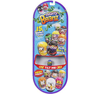 Mega set 15 figurine Mighty Beanz
