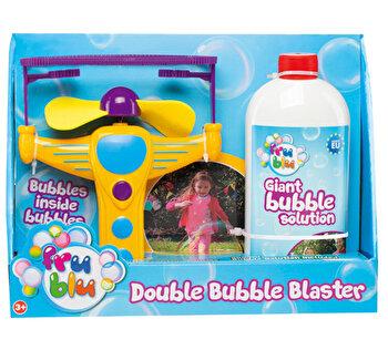 Set lansator bula in bula + sticla lichid pentru bule 0,5l FRU BLU de la FRU BLU