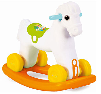 Jucarie 2 in1 – Calut balansoar de la Fisher Price
