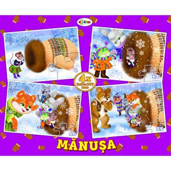 Puzzle - manusa (4 imagini - 59 de piese)/***