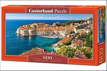 Puzzle panoramic Dubrovnik – Croatia, 600 piese de la Castorland
