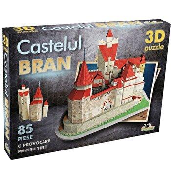 Puzzle 3D Castelul Bran, 91 piese