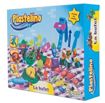 Plastelino – Set La Bufet, 4 culori de la Plastelino