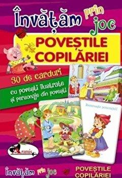 Invatam prin joc – Povestile copilariei – 30 de carduri/Corina Gadiuta de la Aramis