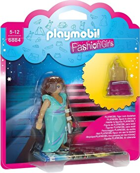 Playmobil Fashion Girls, Fetita in tinuta de oras de la Playmobil