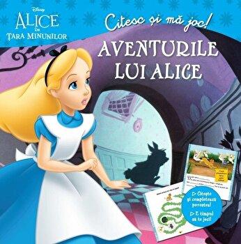 Disney. Citesc si ma joc. Alice In Tara Minunilor. Aventurile lui Alice/*** de la Litera