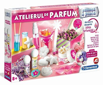 Stiinta si joaca - Set Atelierul de parfum