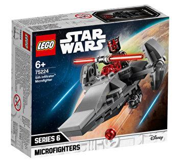 LEGO Star Wars, Sith Infiltrator Microfighter 75224 de la LEGO