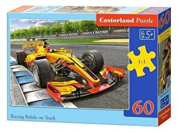 Puzzle Masina de curse in circuit, 60 piese de la Castorland