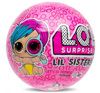 Papusa LOL Surprise Ball – Lil Sisters, 5 piese de la LOL