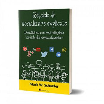 Retelele de socializare explicate. Descalcirea celei mai neintelese tendinte din lumea afacerilor/Mark W. Schaefer de la Act si Politon