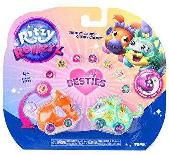 Ritzy Rollerz – Set 2 vehicule Gabby si Ciresica de la Tomy