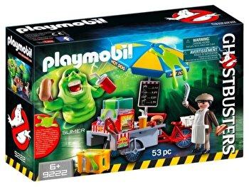 Playmobil Ghostbusters, Slimmer si stand de hot dog de la Playmobil