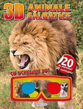 3D abtibilduri – Animale salbatice/*** de la Girasol