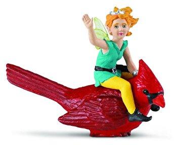Safari, Set figurine Zana Lucy si pasarea cardinal de la Safari