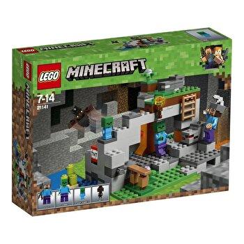 LEGO Minecraft, Pestera cu zombi 21141 de la LEGO