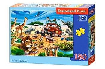 Puzzle Aventura Safari, 180 piese de la Castorland