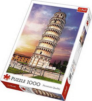 Puzzle Turnul din Pisa, 1000 piese de la Trefl
