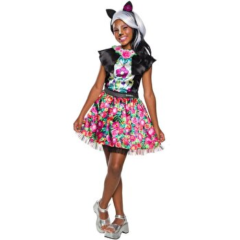 Costum carnaval EnchanTimals Sage Skunk, marime S de la Rubies