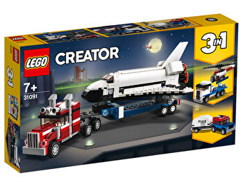 LEGO Creator 3 in 1, Transportorul navetei spatiale 31091 de la LEGO