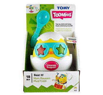 Jucarie interactiva Puiul muzicant de la Tomy